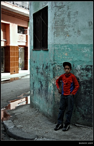 ---Spiderman de Habana---