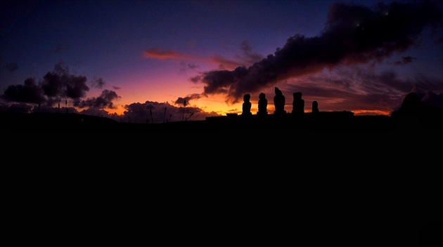 Good night Easter Island :)