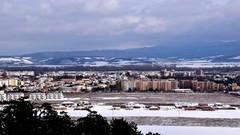 Mesto v zime