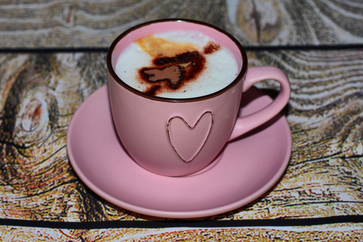 Valentine´s coffee