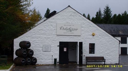 dalwhinnie distillery, scotland