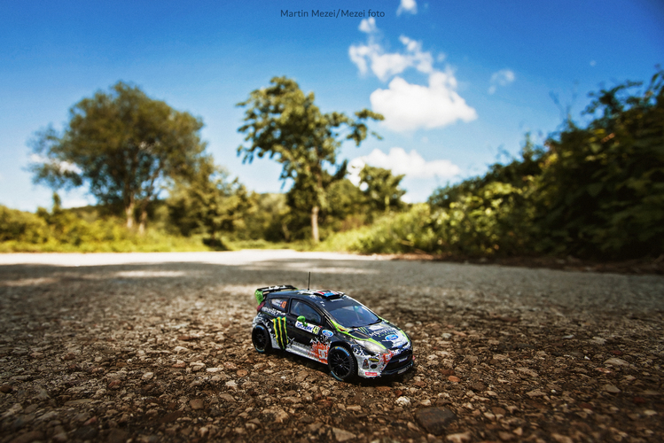 Ford Fiesta rs wrc 1:43 - Rally New Zealand 2012