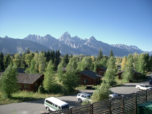 The Teton Range & Dornan's
