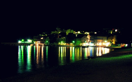 Night colors of Croatia