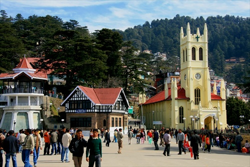 Shimla, Christ Church on the Mall