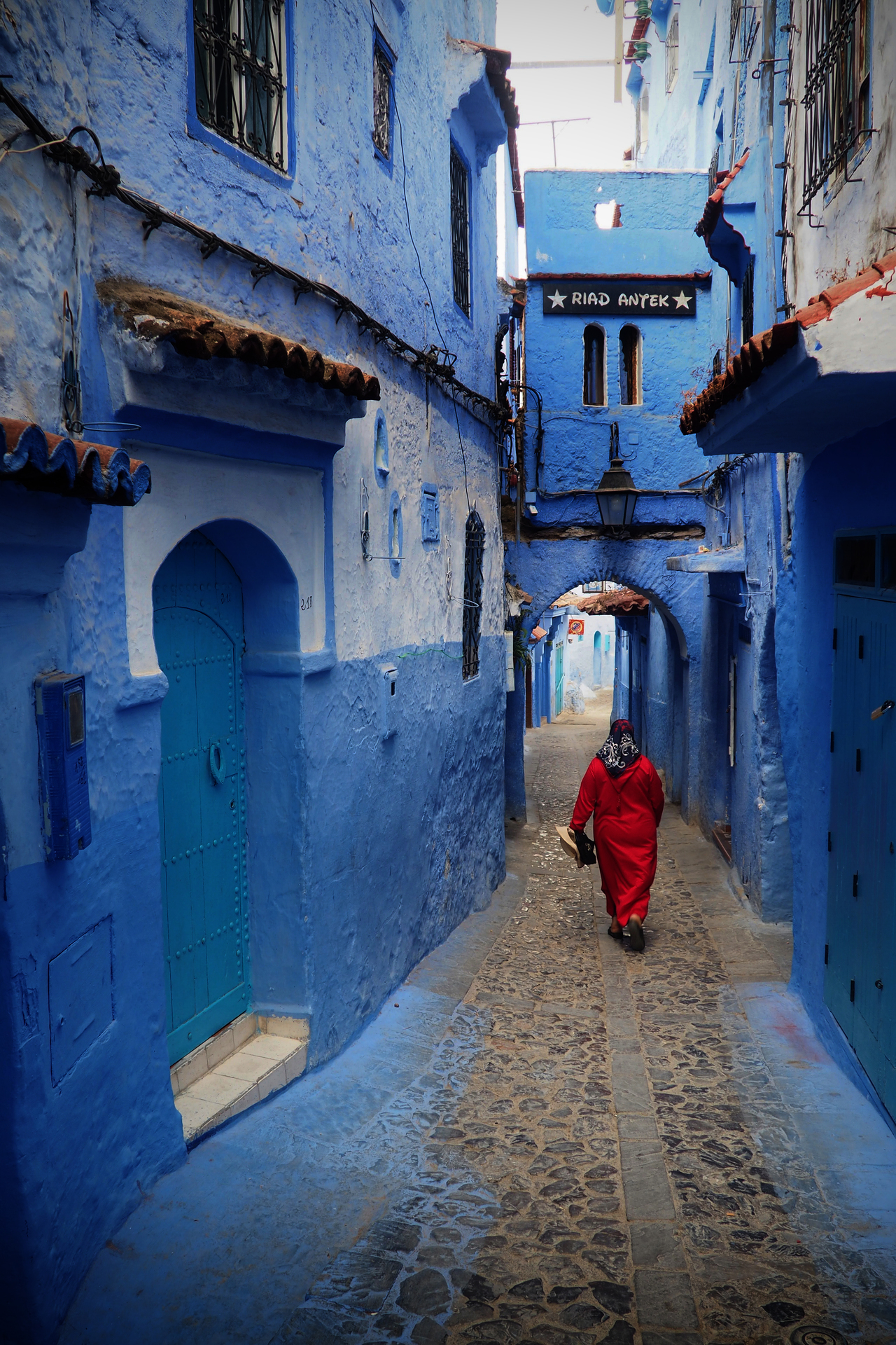 The blue pearl of Morocco