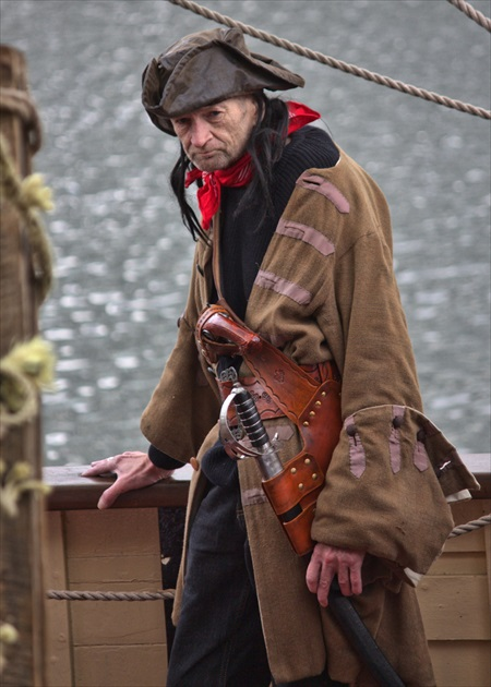 The last pirate in the Liverpool
