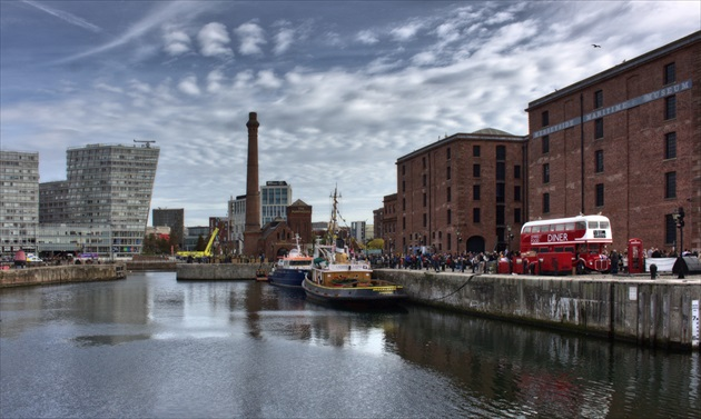 Albert Dock & Pump house