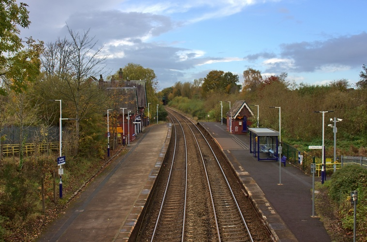 Great Sankey Station