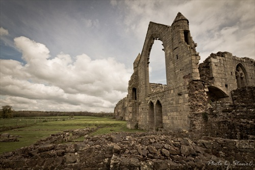 Haughmond Abbey (Shropshire, UK)