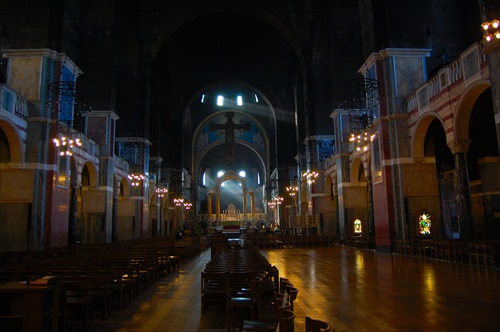 Morning Light in Westminster Cathedral