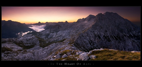 In the heart of Alps