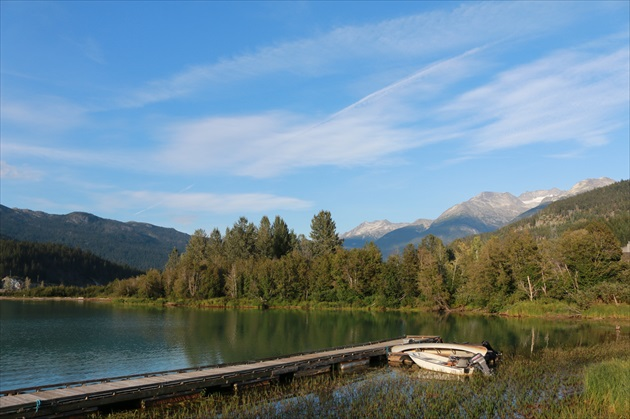 Green lake Whistler (Kanada)