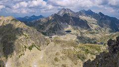 Pohľad z Východnej Vysokej - Vysoké Tatry
