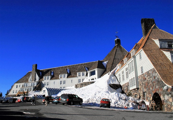 Timberline Lodge, Mount Hood...